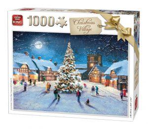 1000 Piece Festive Jigsaw Puzzle - Christmas Village 05610