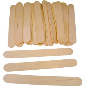 100 Plain Jumbo Lolly Sticks 7067-100