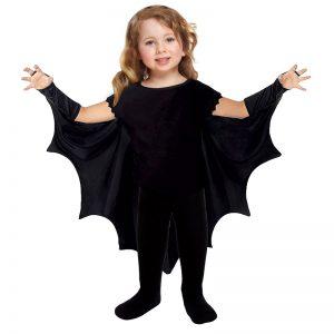 Childrens Fancy Dress Bat wing Cape Halloween Costume 2-3 Years