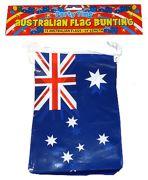 12ft Austalian Flag Bunting Decoration - F30 585