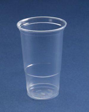 10 Pack Plastic Reusable Pint Tumbers - KCC10P
