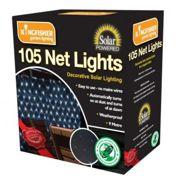 105 LED Outdoor White Garden String Lights SLNET1