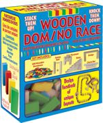 200 Piece Wooden Toy Domino Race Construction Set - 00435