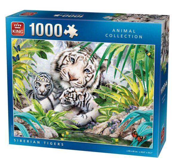 siberian tigers puzzle