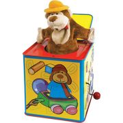 Children's Animal Jack In The Box Pop Up Toy - 09487