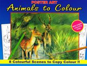 Advanced Animals To Colour Book - Deer - 1020-SPL1
