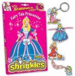 Fairy Tale Princess Theme Shrinkie Sheets Shrink Art Shrinkles Box Set