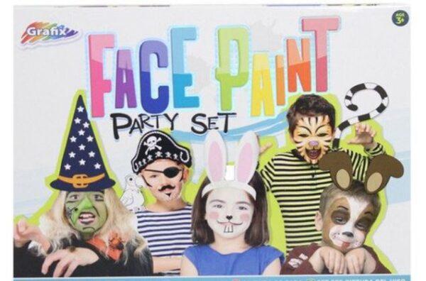 Grafix Face Paint Party Set - Boys