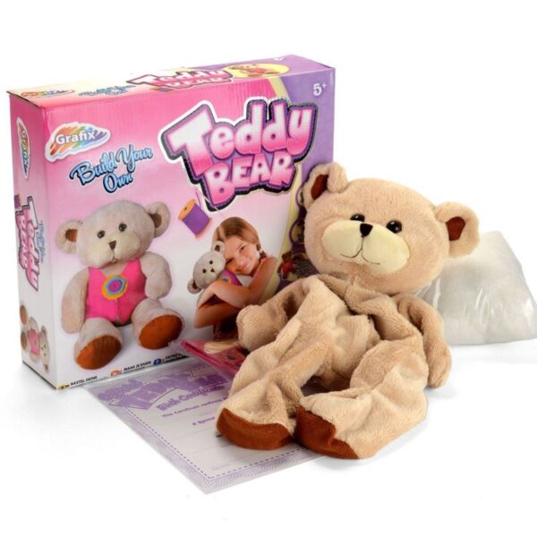 Build Your Own Cuddly Teddy Bear Set 16-6660