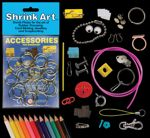 20 Magnetic Strips Adhesives Shrink Art Accessory Pack