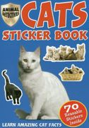 Cats And Kittens Sticker Book 70 Stickers - 2033/CASB