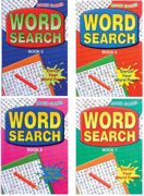 Handy Word Search Books Set of 4 Puzzle Books 2070