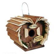 Kingfisher Deluxe Wooden Bird Hotel Hanging Nest HOTEL3