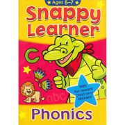 Snappy Learner Words & Phonics Educational School Book - 2527-SLAB2