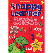 A4 Snappy Learner Multiplying & Dividing Educational School Book