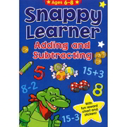 A4 Snappy Learner Adding & Subtracting Educational School Book