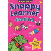 A4 Snappy Learner Words & Spelling Educational School Book