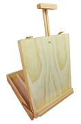 Large Beechwood Storage Box Easel Wooden - BV46
