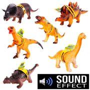 Ankylosaurus Rubber Dinosaur Toy With Sound Effects - HWA915636-SPL3