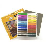 Pk Of 24 Assorted Soft Pastel Artist Quality Colour Pigments Cpa-24