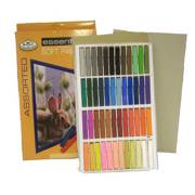 Pk Of 48 Assorted Soft Pastels Artist Quality Colour Pigment Cpa-48