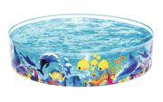"Sea Life Pop Up Garden Paddling Pool 72"" x 15"" 55030"