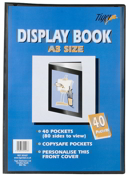A3 40 Pocket Presentation Display Book