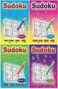 4 x Sudoku A5 Pocket Puzzle Books - 3035-SPL1