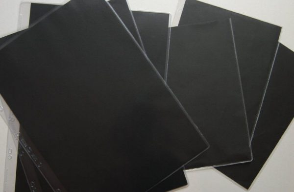 Pack Of 10 A2 Size Clear Heavyweight Art Portfolio Sleeves Rb