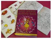 Children's Fairy Activity Sticker Book Party Favour - 3080-FAISAB-SPL1