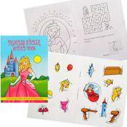 Childrens Princess Activity Sticker Book Party Favour - 3080-PRISAB-SPL1
