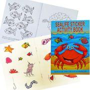 Children's Sea Life Activity Sticker Book Party Favour - 3080-SEASAB-SPL1