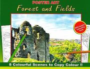 Advanced Quality Adult Colouring Books - Forest And Fields - 3110-SPL1