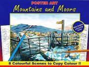 Advanced Quality Adult Colouring Books - Mountains And Moors 3110-SPL3