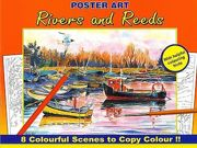 Advanced Quality Adult Colouring Books - River And Reeds - 3110-SPL4