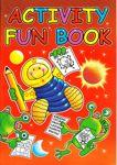 A4 Size Activity Fun Book Red 3205-SPL1