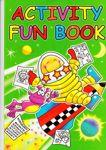 A4 Size Activity Fun Book Green 3205-SPL3