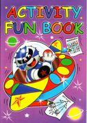 A4 Size Activity Fun Book Purple 3205-SPL4