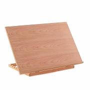 A3 Art & Craft WorkStation Wooden Drawing Board Artist Adjustable Table Easel