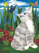 A4 Painting By Numbers Kit - Kitten