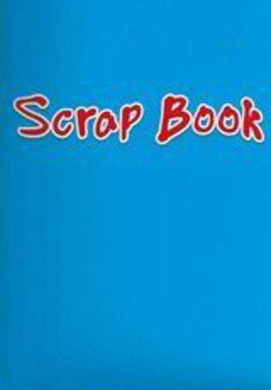 Blue Colour Scrap Paper 24 Page Book 333-SPL1