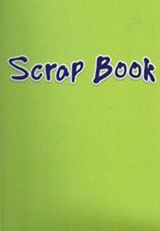 Green Colour Paper 24 Page Scrap Book 333-SPL3