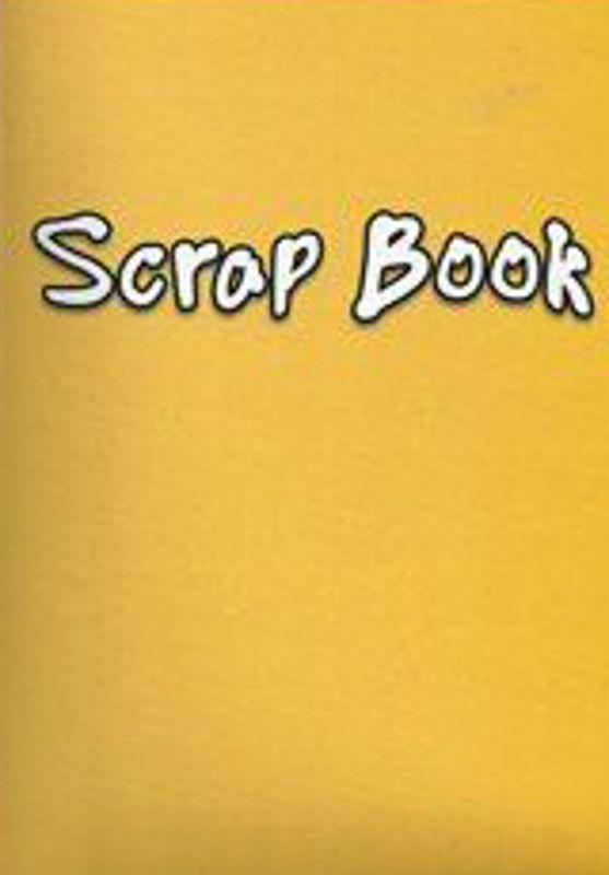 Yellow Colour Scrap Paper 24 Page Book 333-SPL4