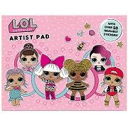LOL Suprise Childrens Artist Drawing Pad