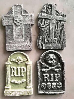 Polystrene Tombstone Halloween Decorations
