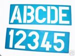 100mm Large Letters Stencil Template With Alphabet And Numbers - 40000