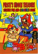 A4 Size Pirate Sticker And Colouring Book Yellow - 4015-SPL2