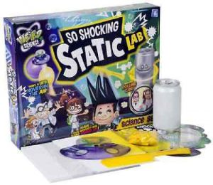 Grafix Weird Science So Shocking Static Lab Science Activity Set Toy