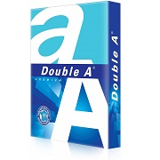 Double A - 1 Ream of A4 Top Quality 80gsm White Copy Craft Printer paper