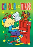 A4 Colour And Trace Book Green 26 Pictures - 630-SPL1